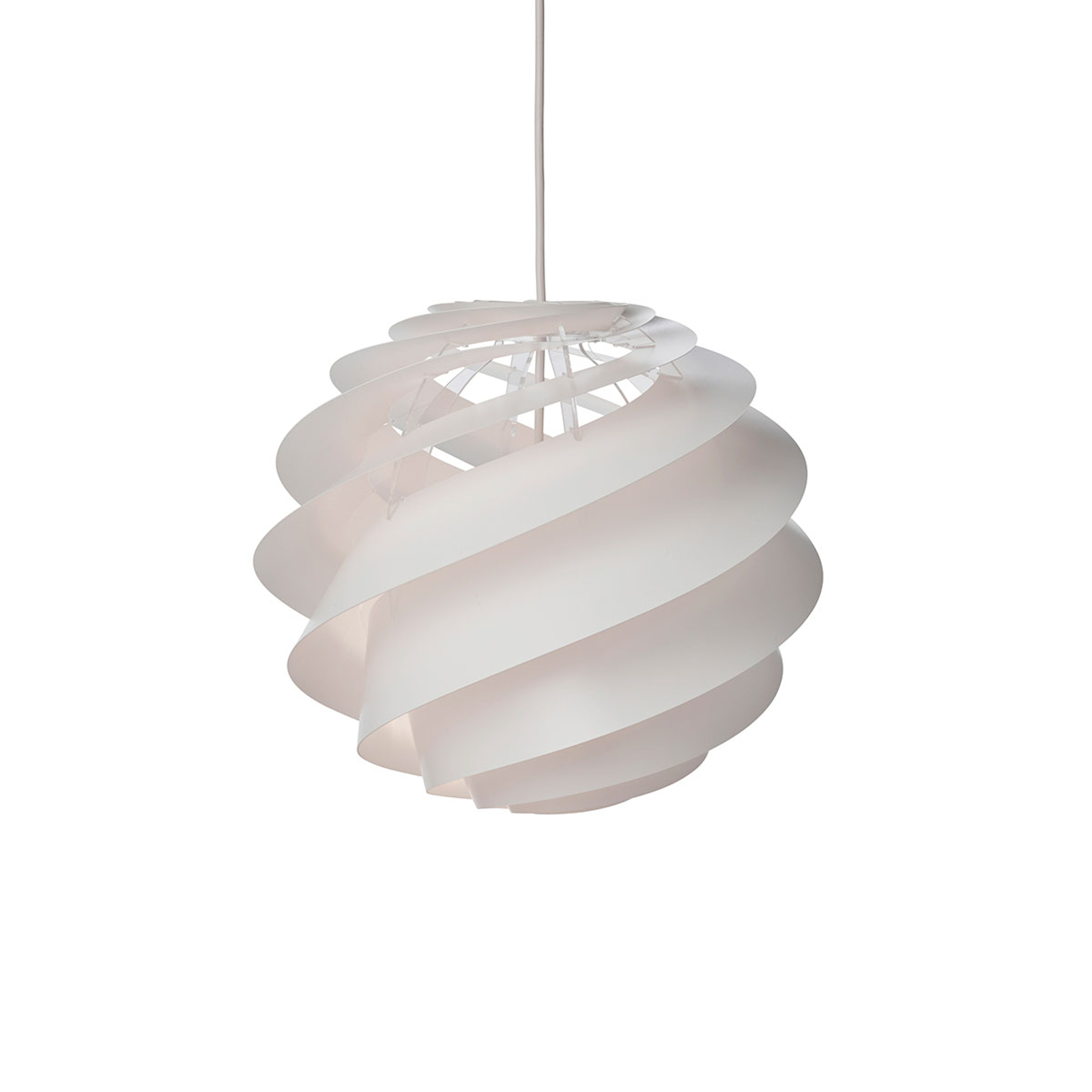 LE KLINT Swirl 3 Small - hanglamp in wit