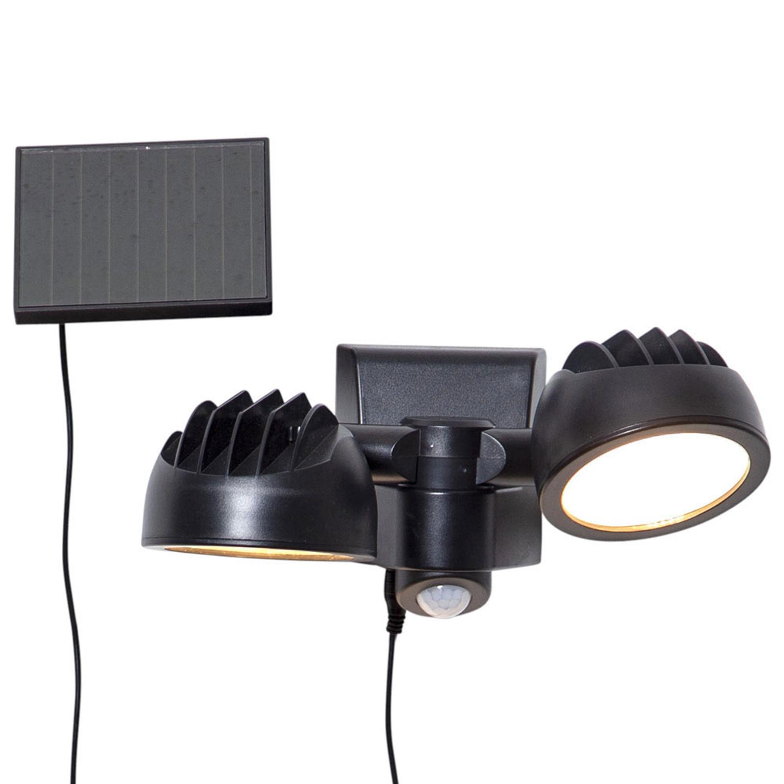 LED-Solarlampe Powerspot Sensor, zweiflammig
