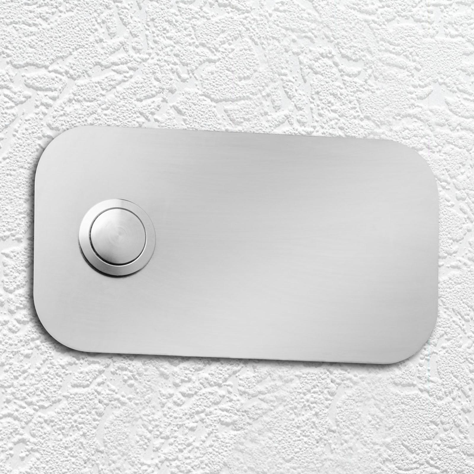 Kvadratisk ringeplade i rustfrit stål
