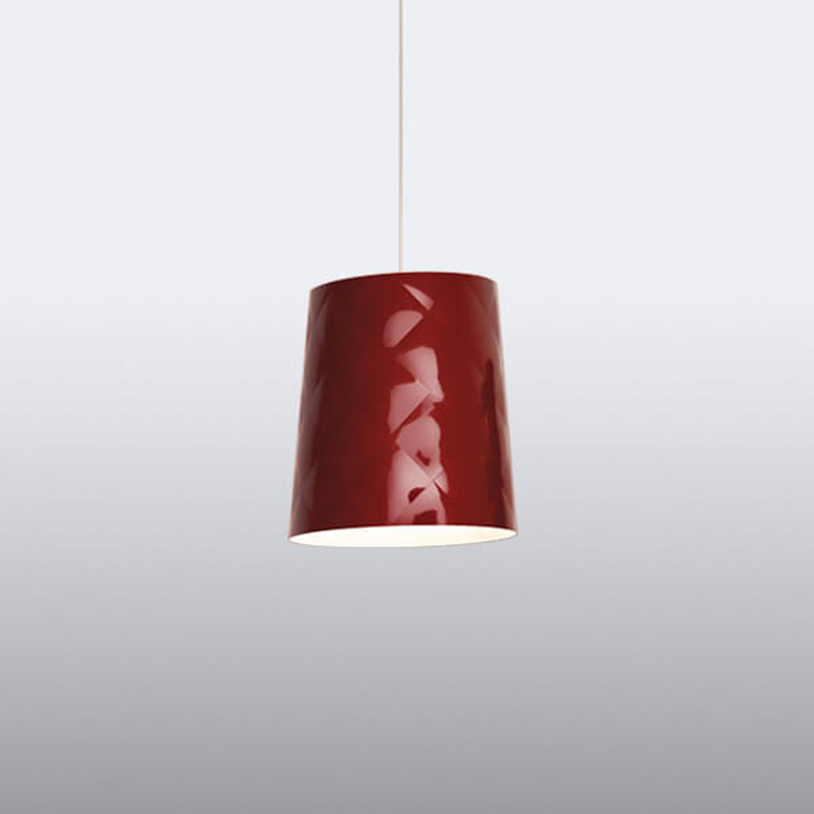Kundalini New York suspension, Ø 33cm, rouge