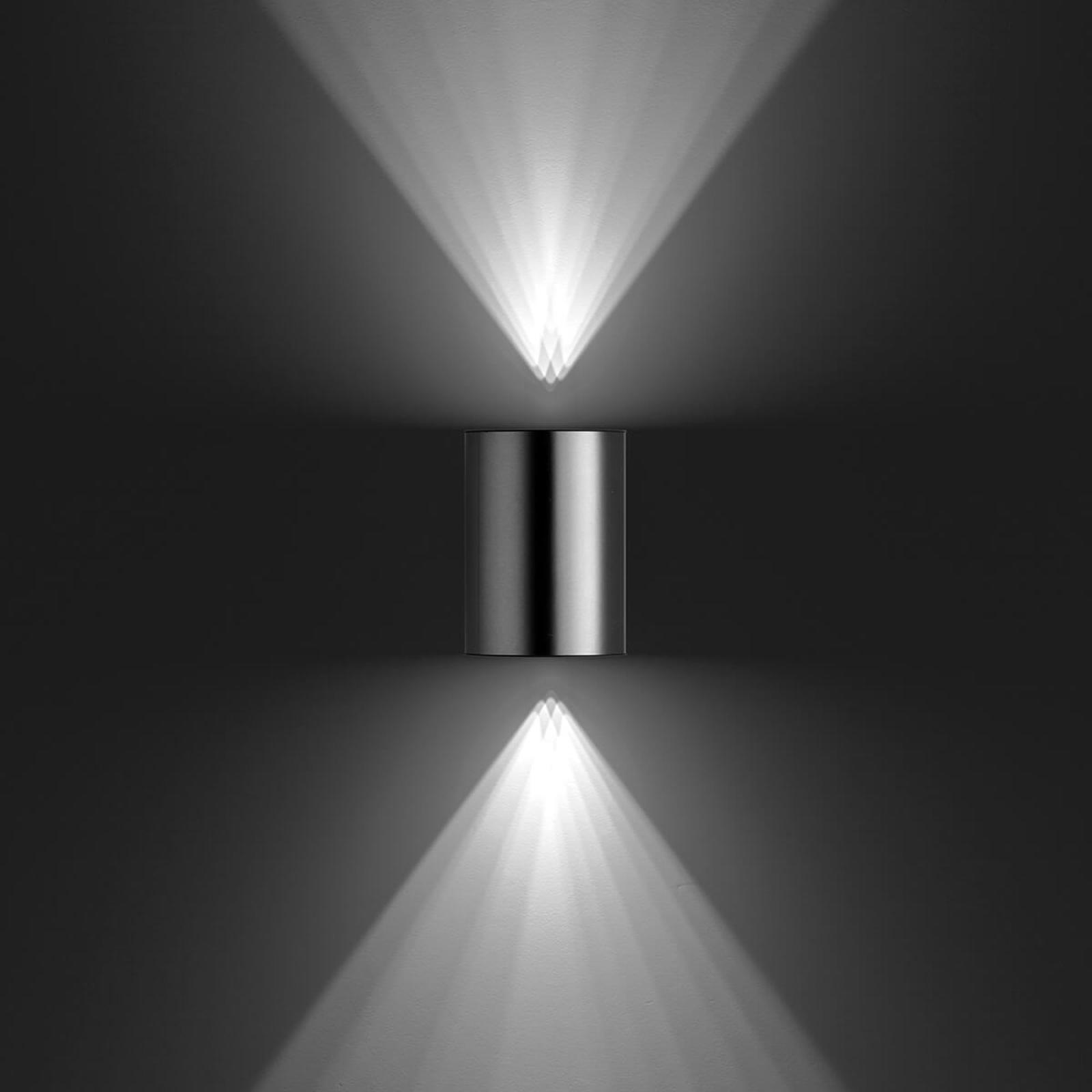 Buxus utendørs LED vegglampe av rustfritt stål