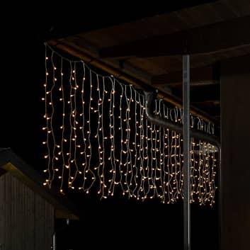 Tenda di luce da esterni con 400 micro LED