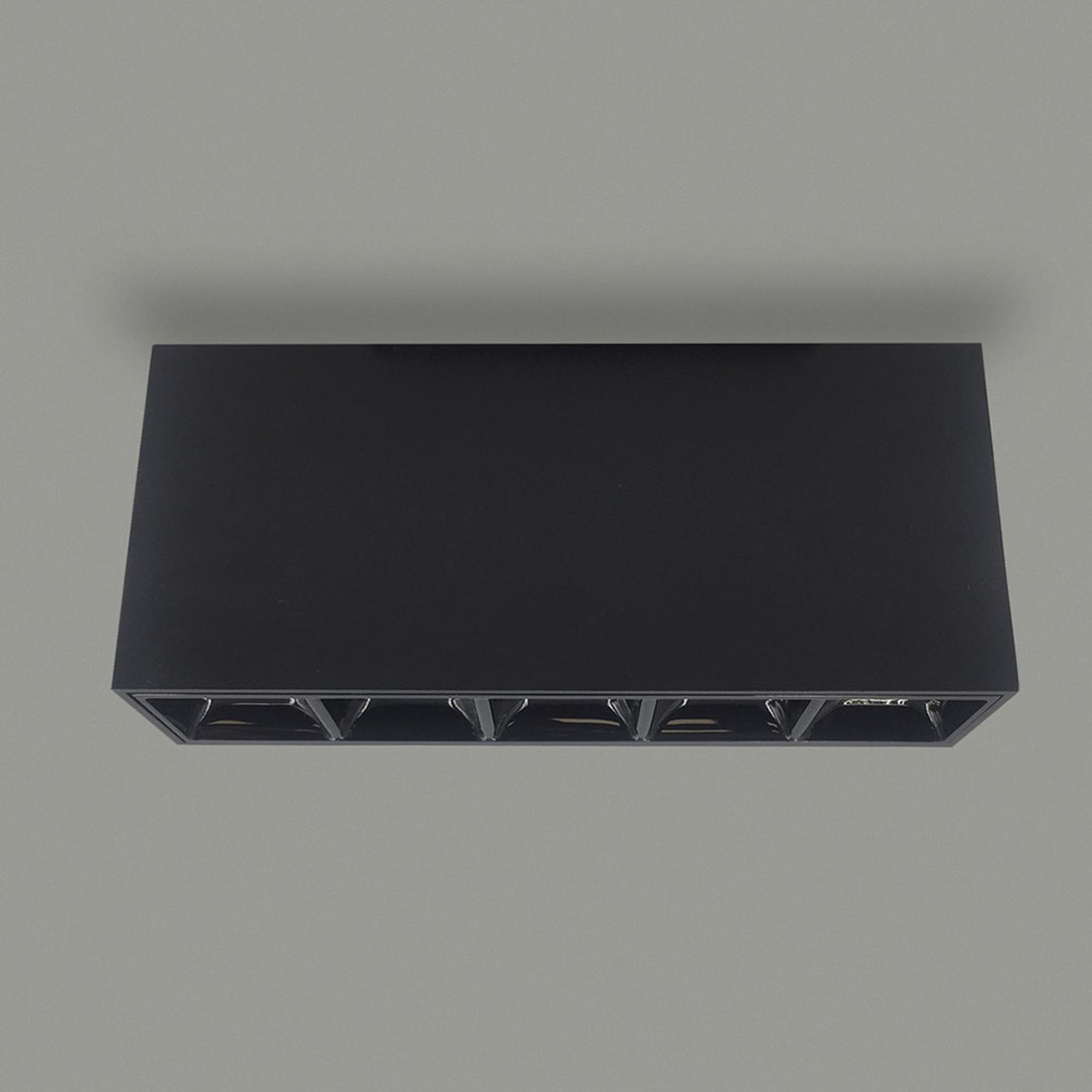 Lampa sufitowa LED Tango, długość 13,7 cm