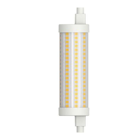 Tube LED R7s 117,6mm 15W blanc chaud