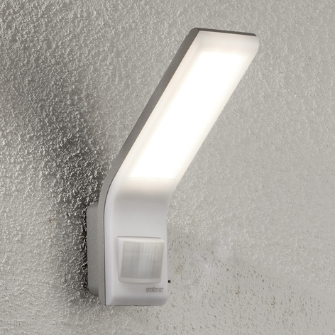 STEINEL XLED slim sensor buitenwandlamp antraciet   Lampen24.nl