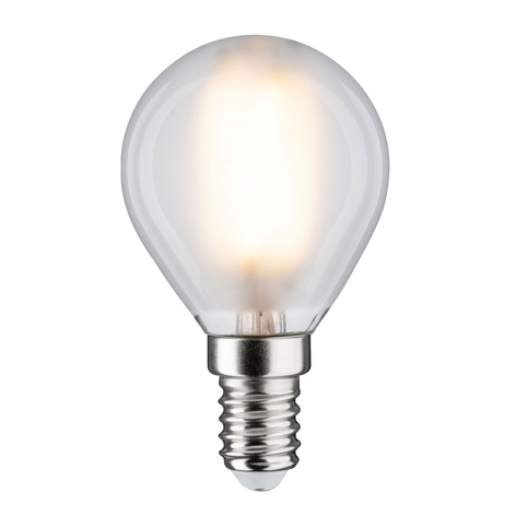 LED-Lampe E14 5W Tropfen 2.700K matt, dimmbar