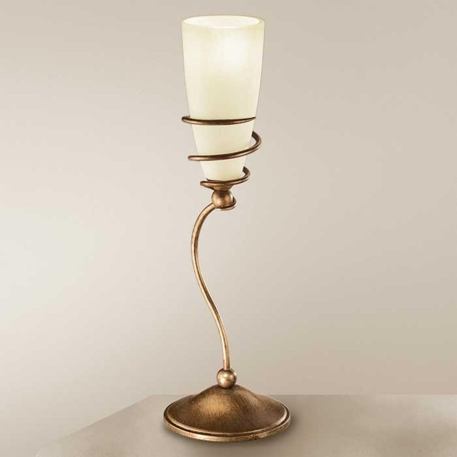 Lampe à poser Daniele laiton antique