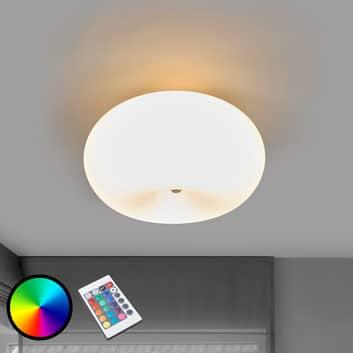LED-Deckenlampe Optica-C RGBW m. Fernbed.
