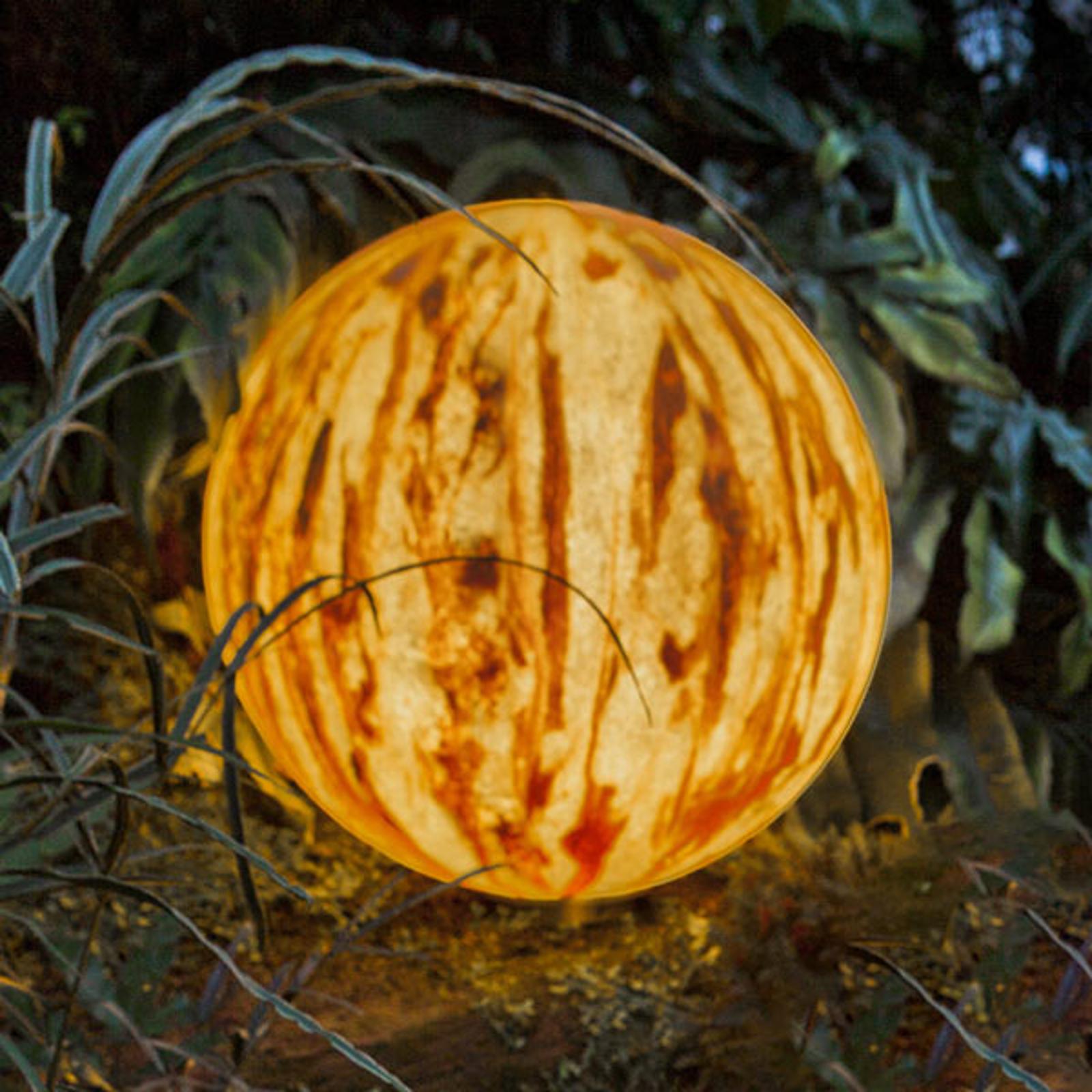 Zandsteen - LED bol Sahara met accu, 20cm
