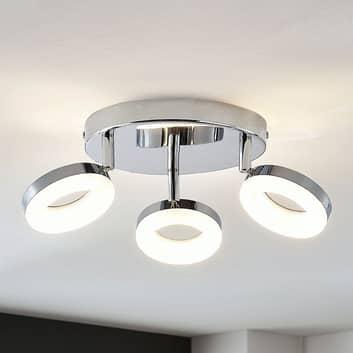 Projecteur LED Ringo à 3 lampes, rond