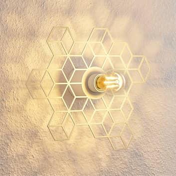 Lucande Alexaru applique, nid d'abeille, blanche