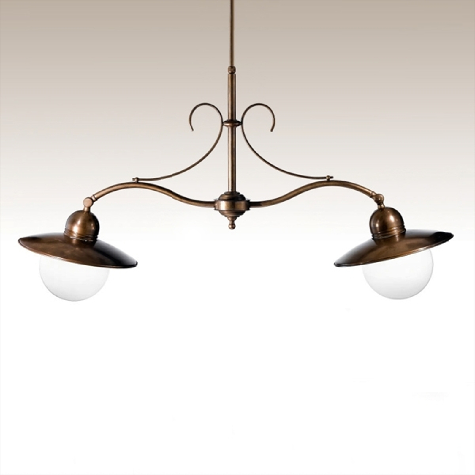 2-lichts hanglamp Taverna