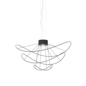 Axolight Hoops 3 LED-Hängeleuchte, schwarz