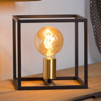 Lámpara de mesa Ruben, negro
