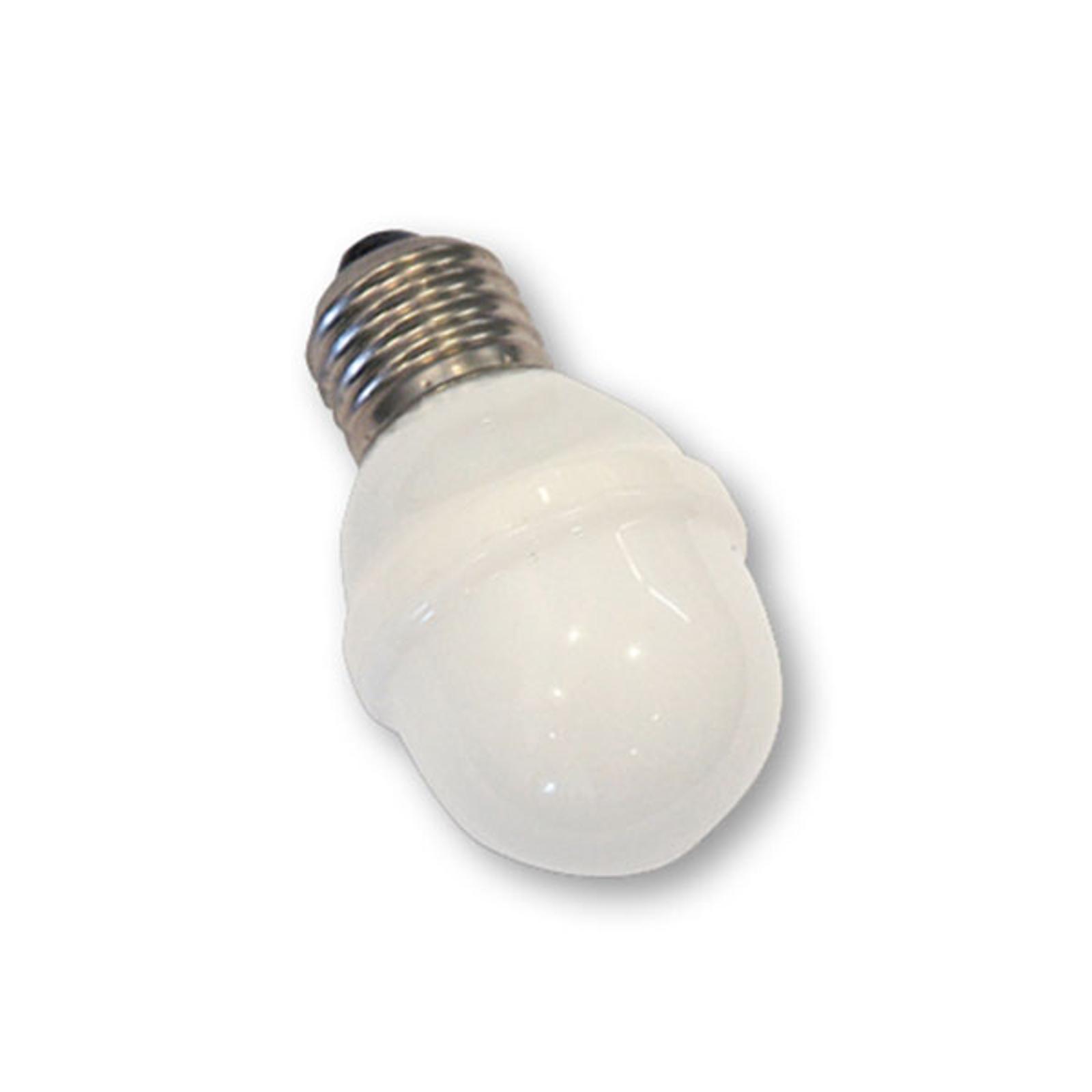 E27 Golfball-Lampe 1W 5,5 VA tageslicht