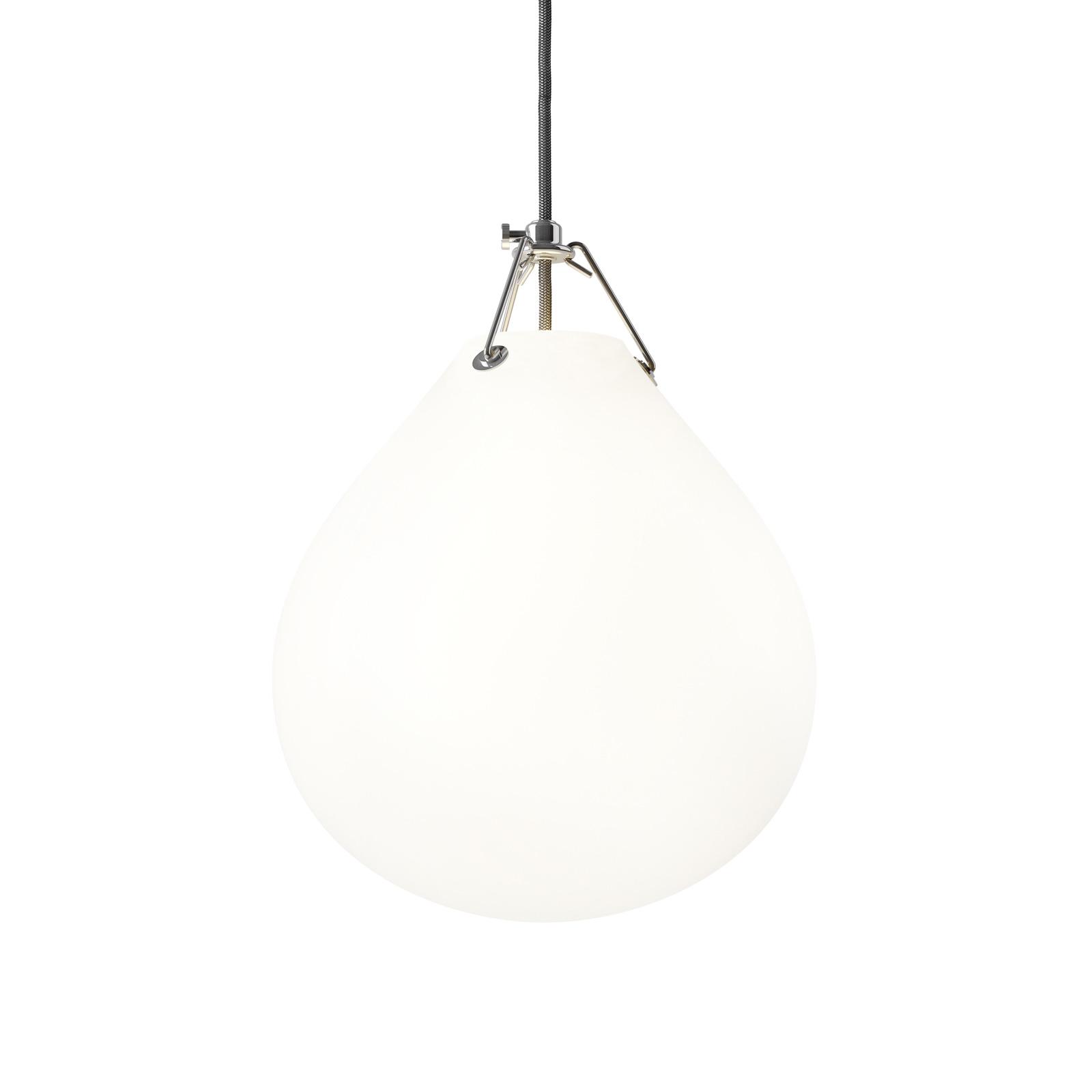 Louis Poulsen Moser glas-hanglamp, Ø 25 cm