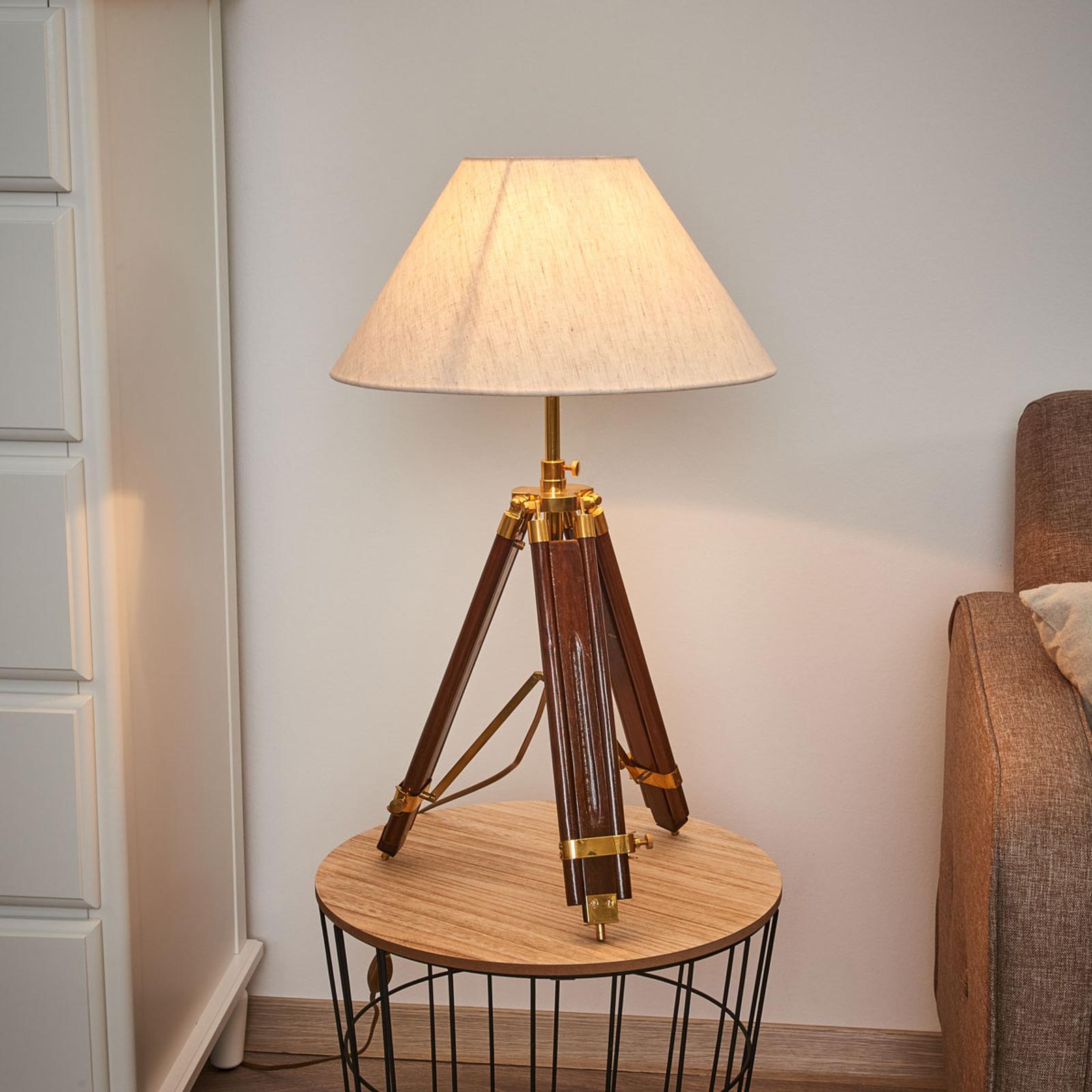 Lampa stołowa jako lampa stojąca - MINISTATIV