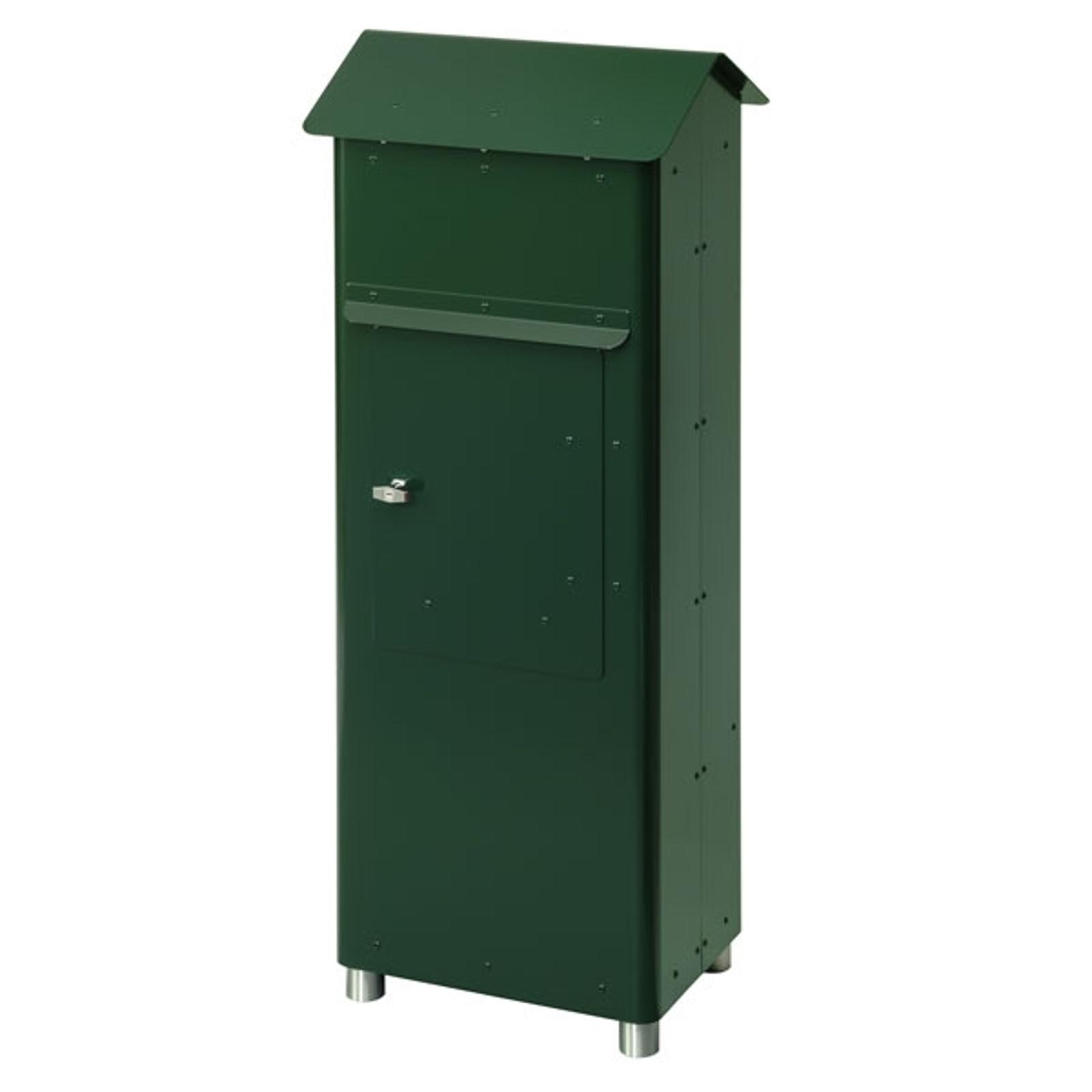 Produktové foto Heibi Poštovní schránka GRANDE SECURI 2 tmavě zelená