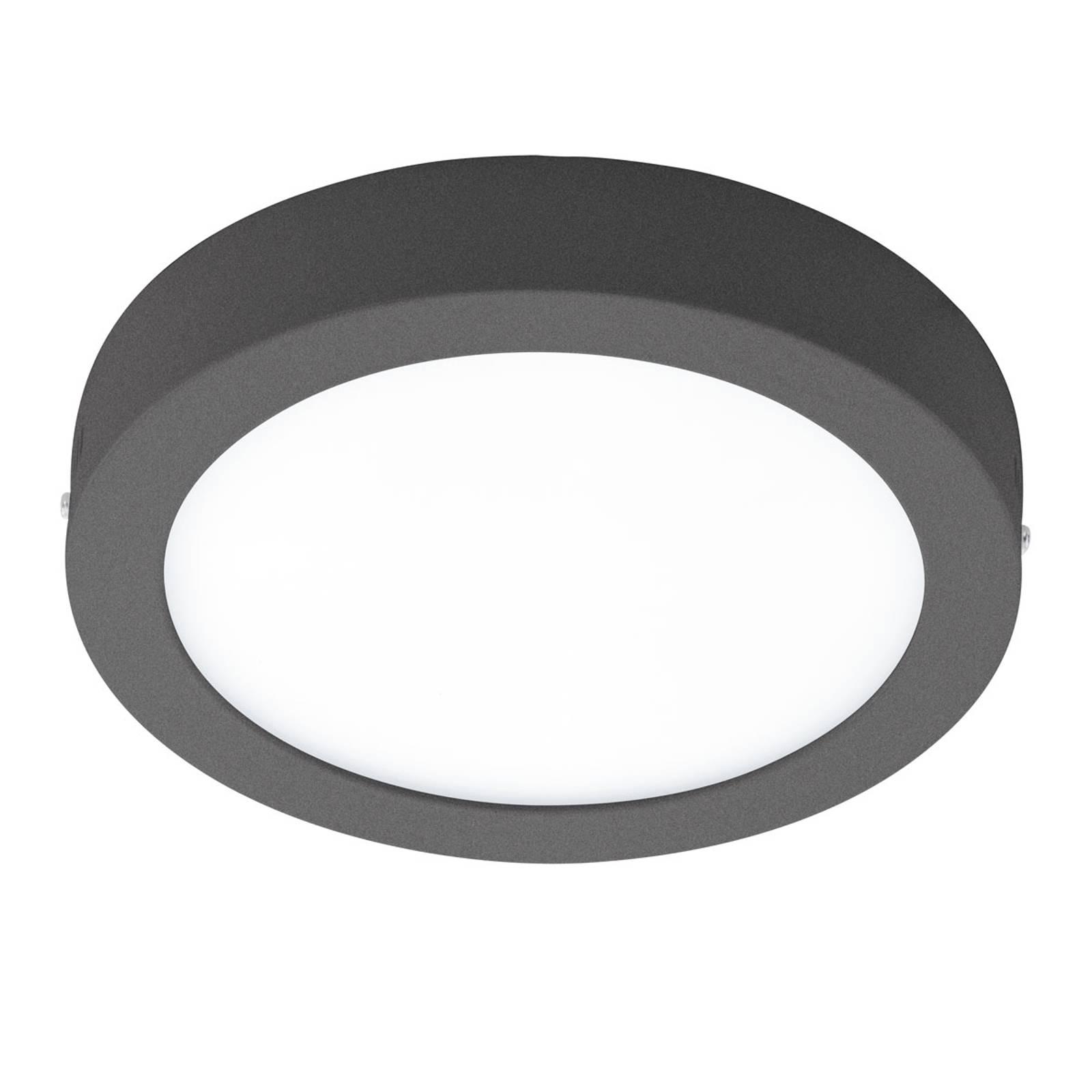 EGLO connect Argolis-C lampada rotonda antracite