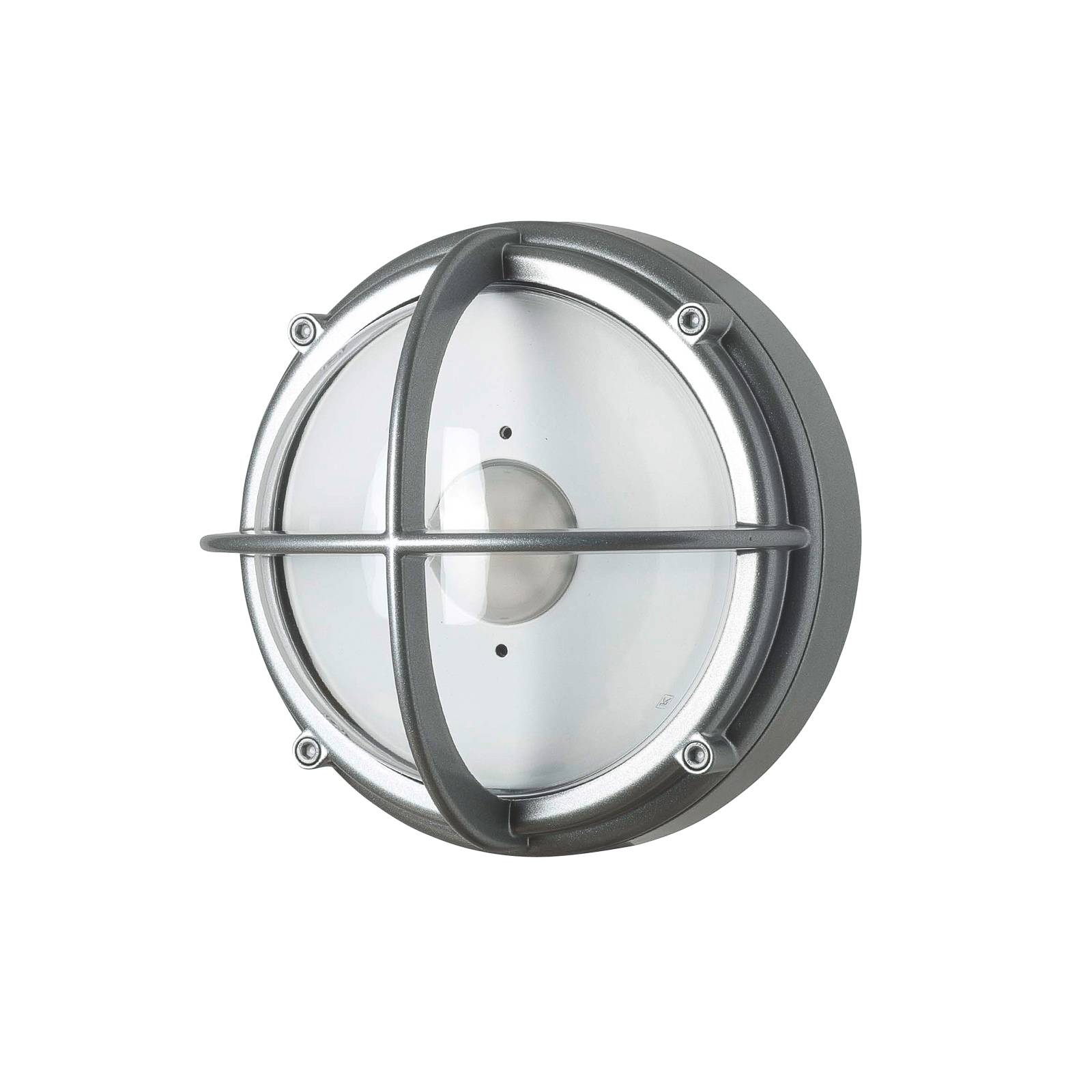 Louis Poulsen Skot LED-Wandleuchte aluminium/klar
