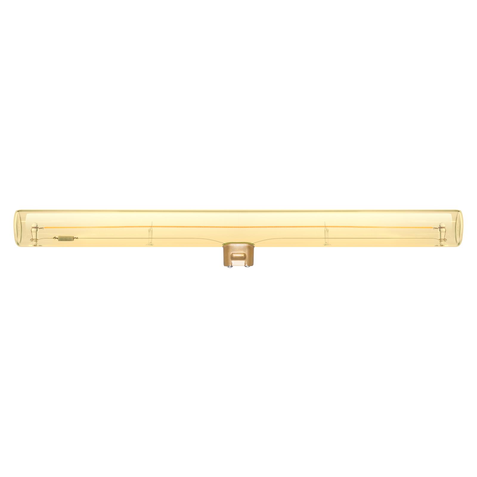 SEGULA żarówka liniowa LED S14d 8W 2000K złota