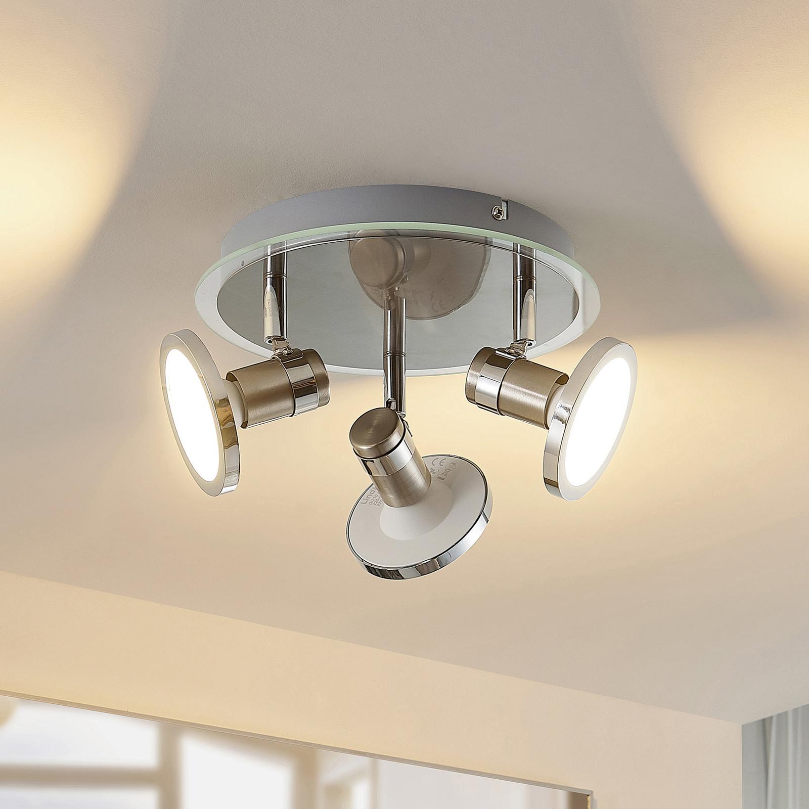 Lindby Stiglio LED-Rondell, dreiflammig