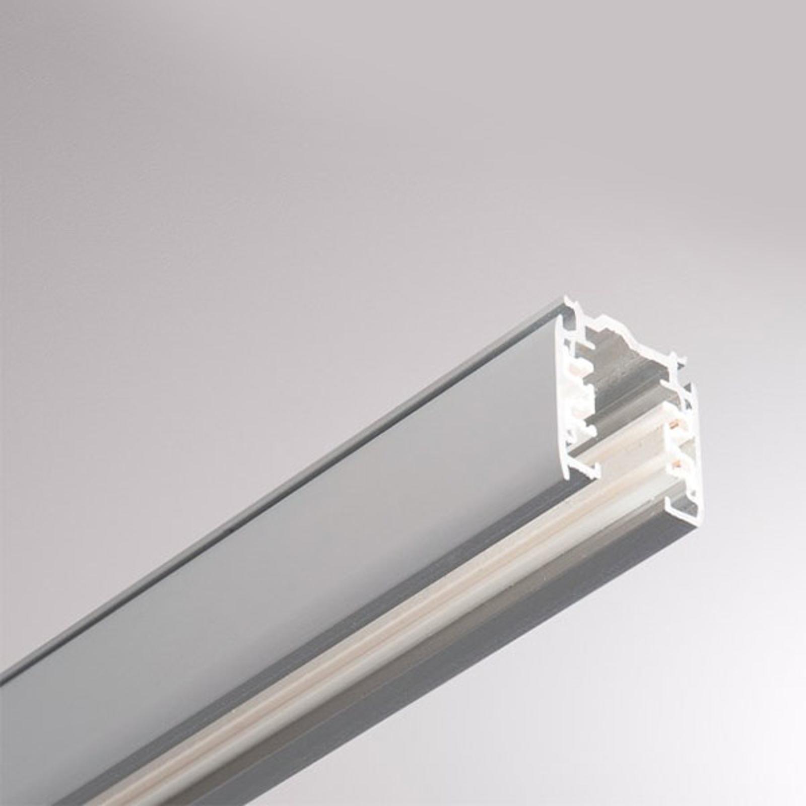 Noa aluminium 3-fase strømskinne 100cm, grå