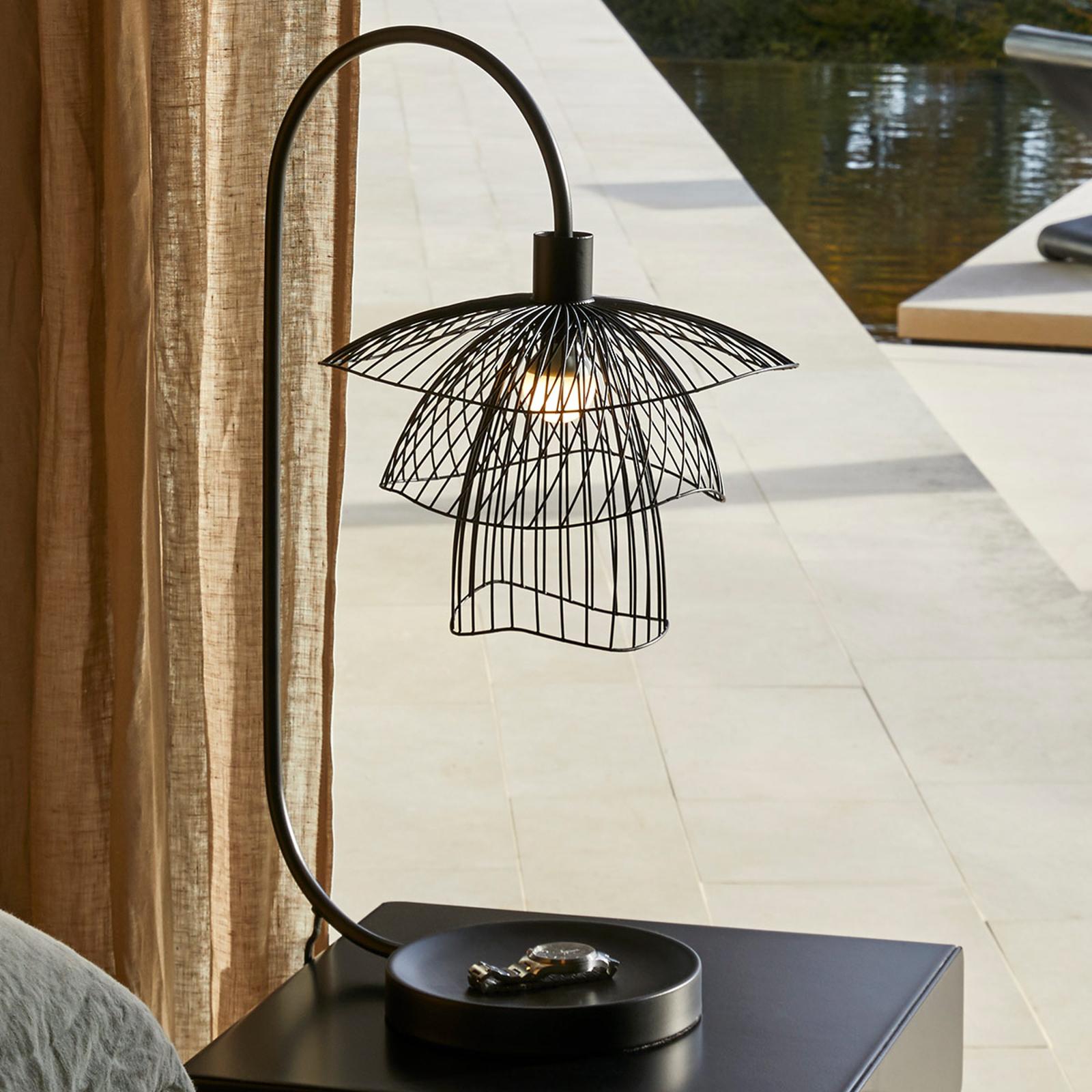 Forestier Papillon XS tafellamp zwart