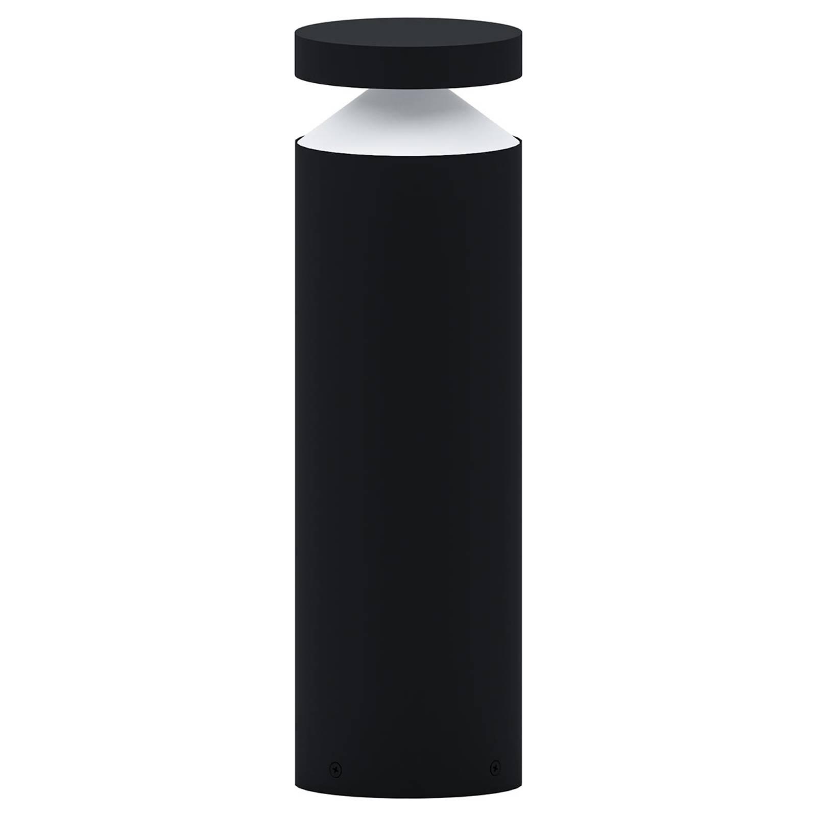 LED-Sockelleuchte Melzo, schwarz