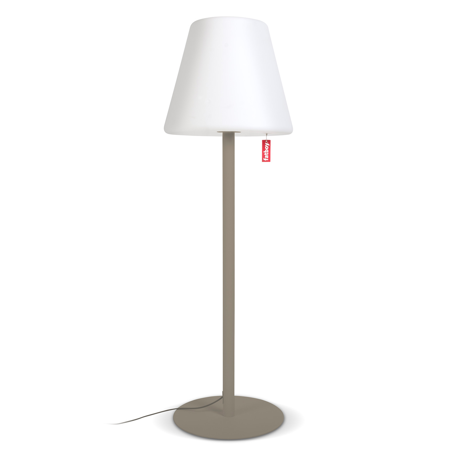 Fatboy LED-Stehleuchte Edison the Giant taupe