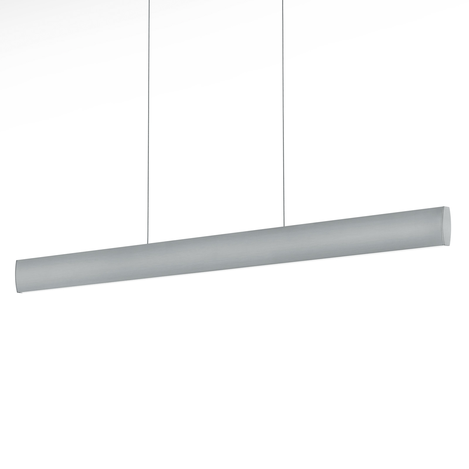 Suspension LED Runa, nickel, longueur 92 cm