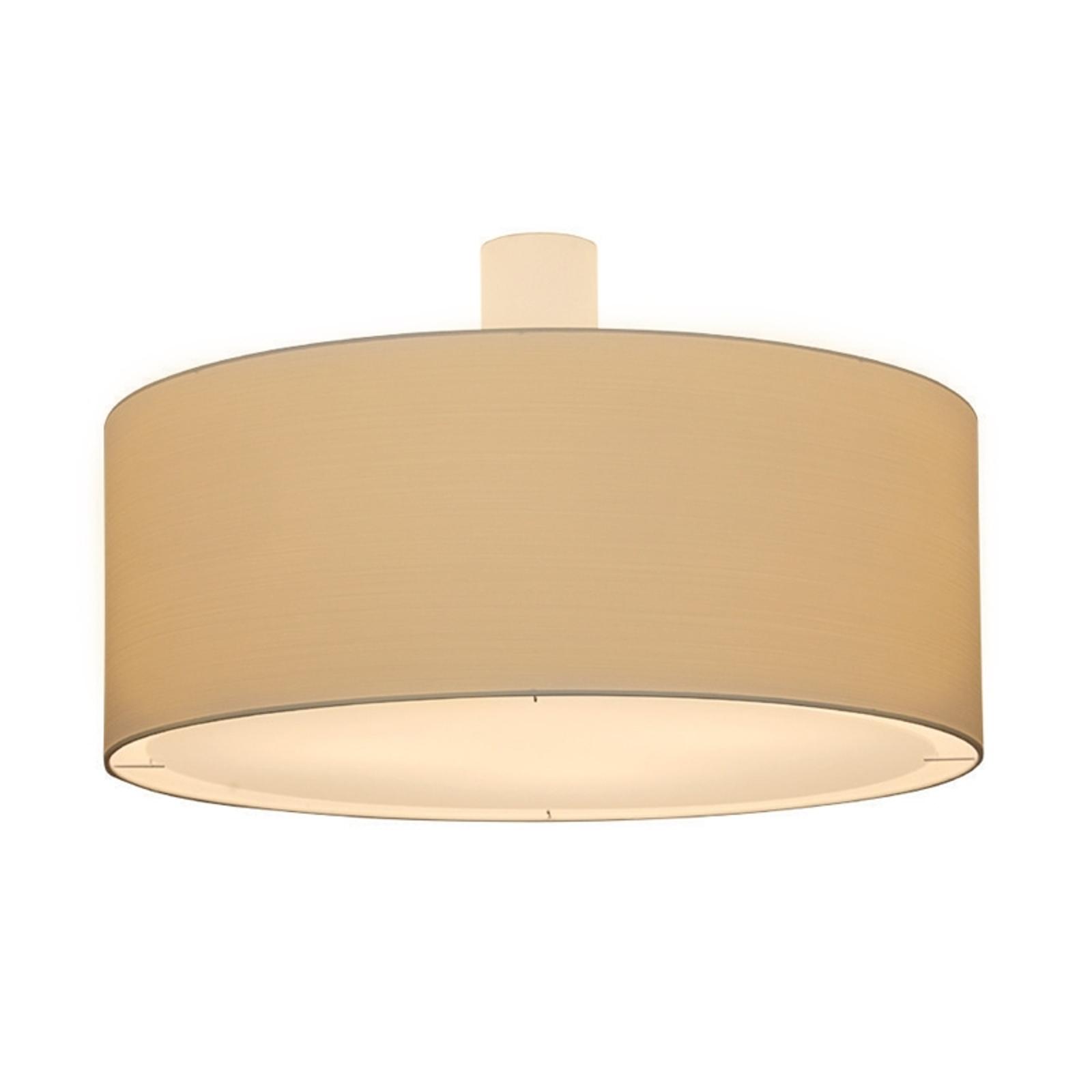 Kremowa lampa sufitowa LIVING ELEGANT średn. 80 cm