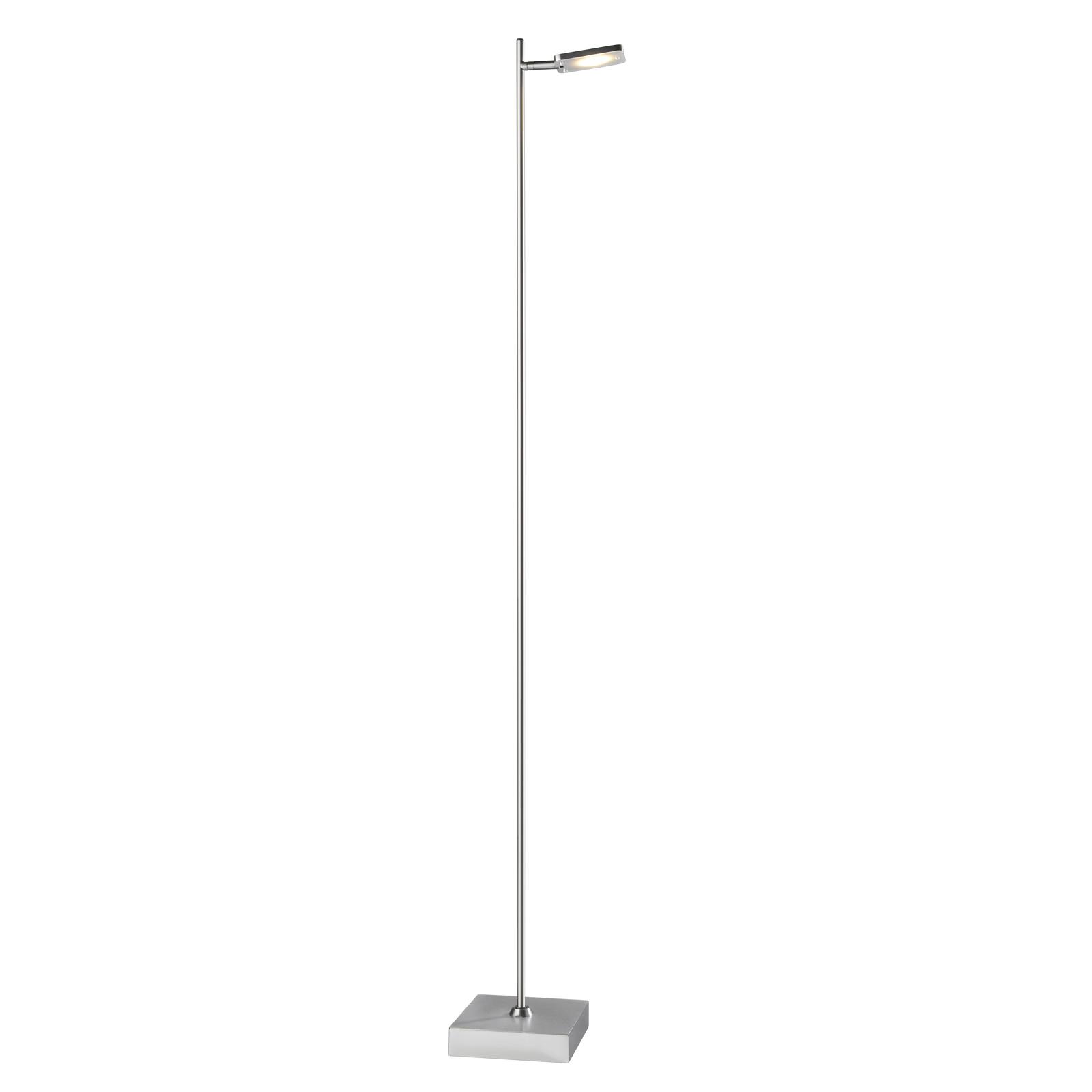 Quad LED-standerlampe, dæmper, 1 lyskilde, alu