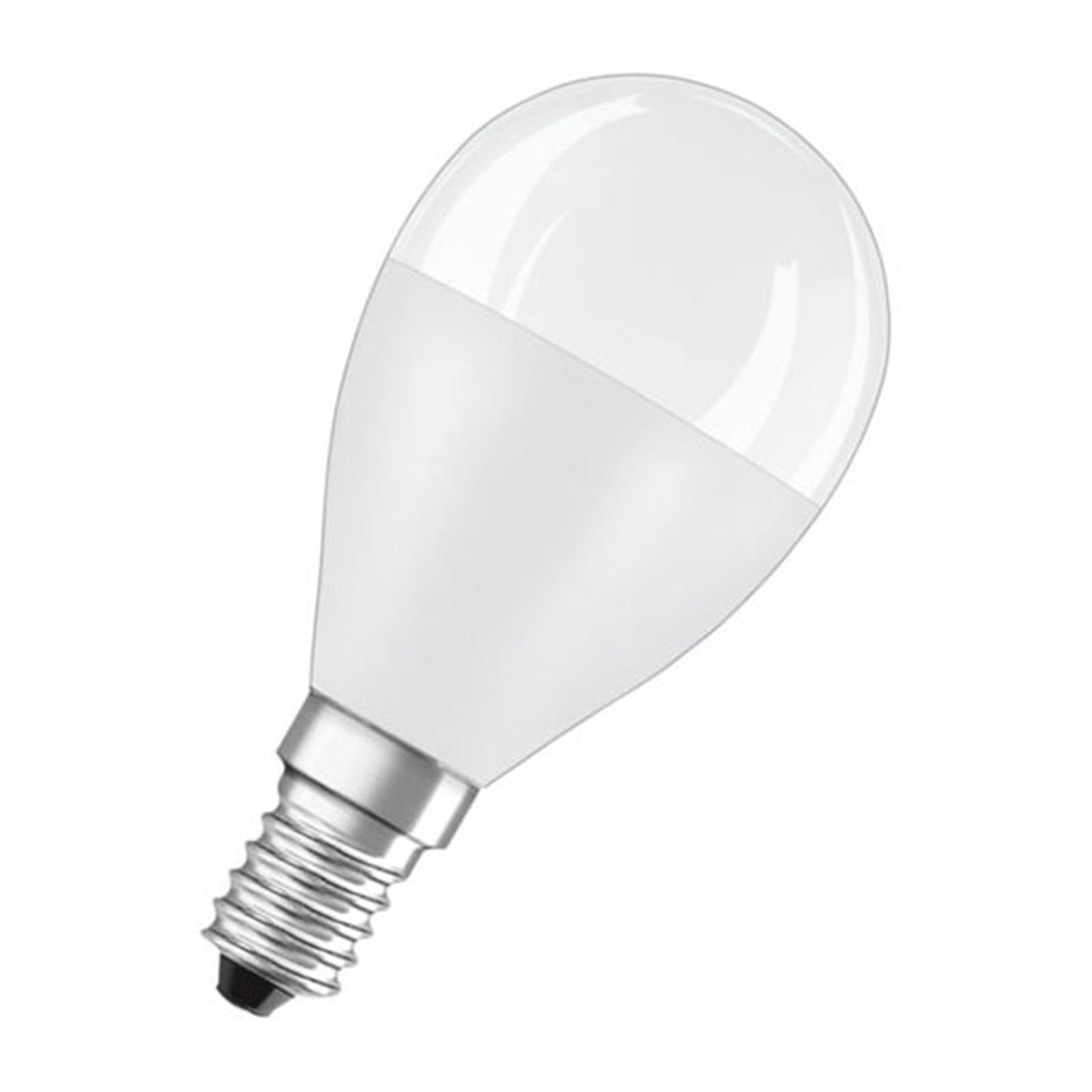 OSRAM Classic P LED-Lampe E14 7,5W 2.700K matt