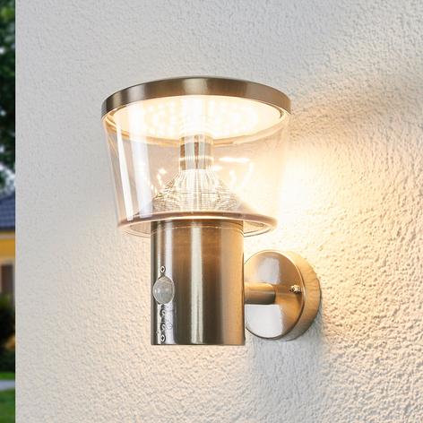 Sensor-Außenwandleuchte Antje mit LEDs