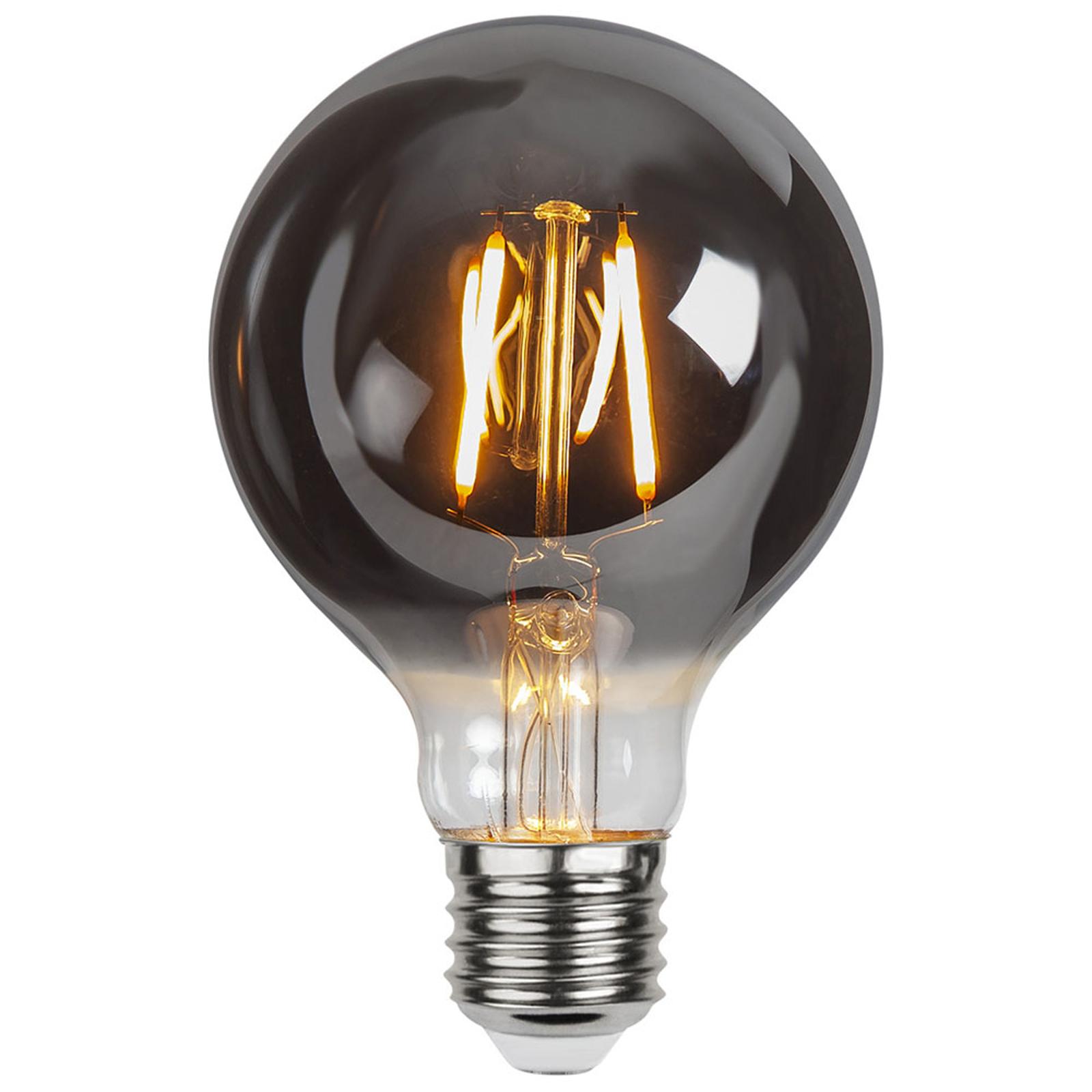 LED-pære E27 1,8W G80 Plain Smoke 2100K 80lm