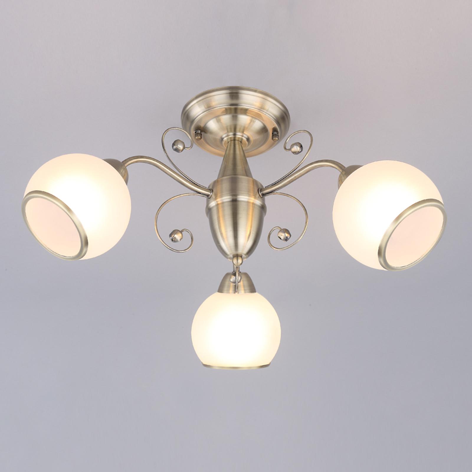 Corentin - joli plafonnier au style classique