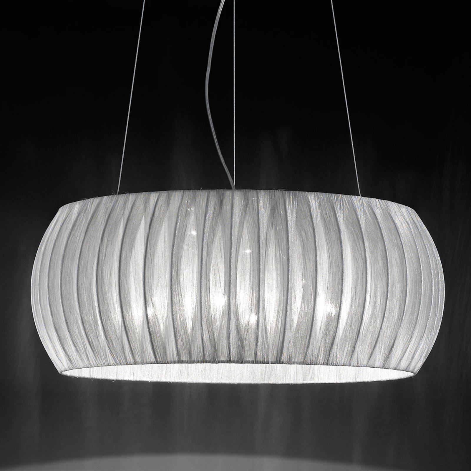 Voortreffelijke textiel hanglamp Amaru 55 cm