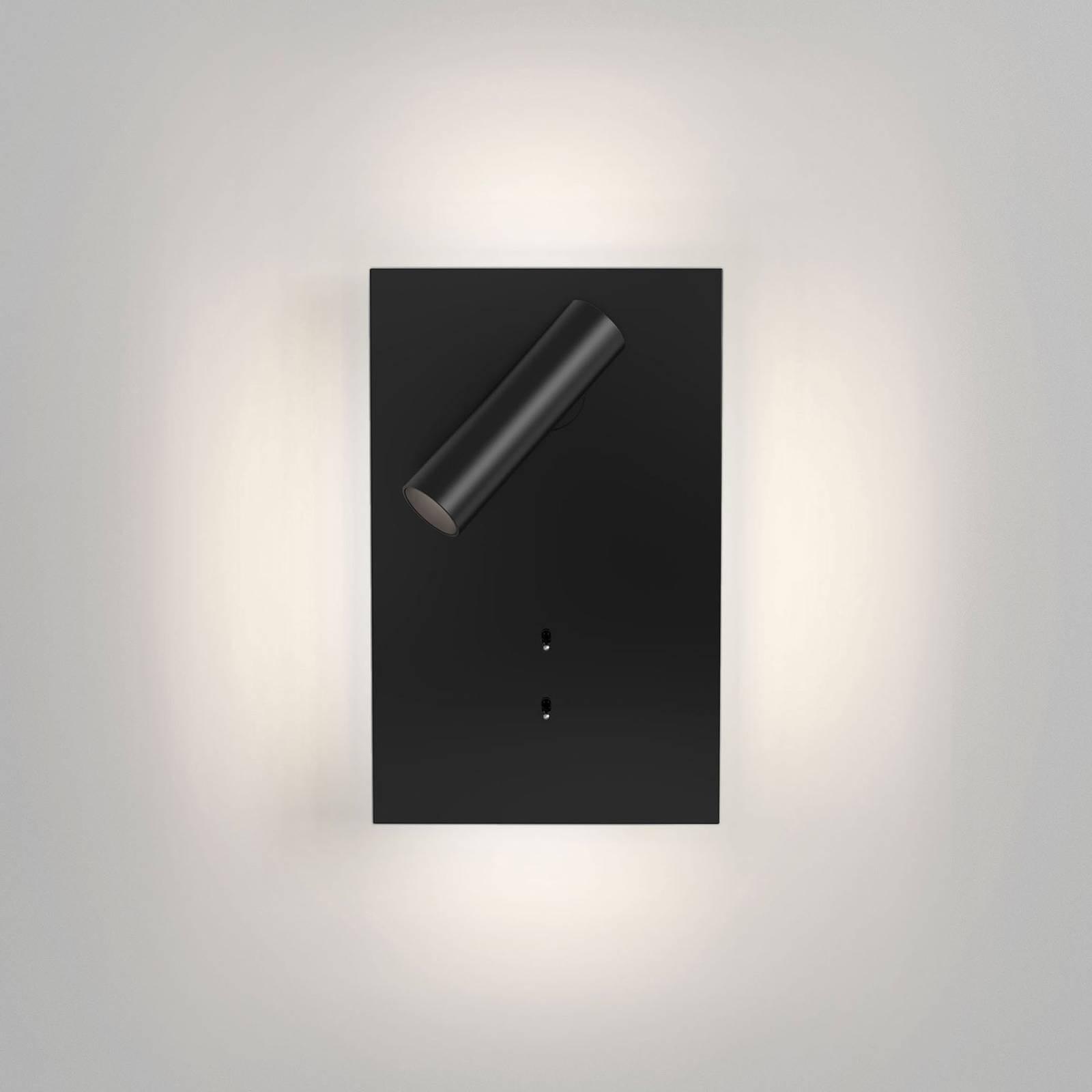 Astro Edge Reader Mini LED-Wandleuchte schwarz