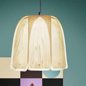 LZF Domo hængelampe af tynd træfiner