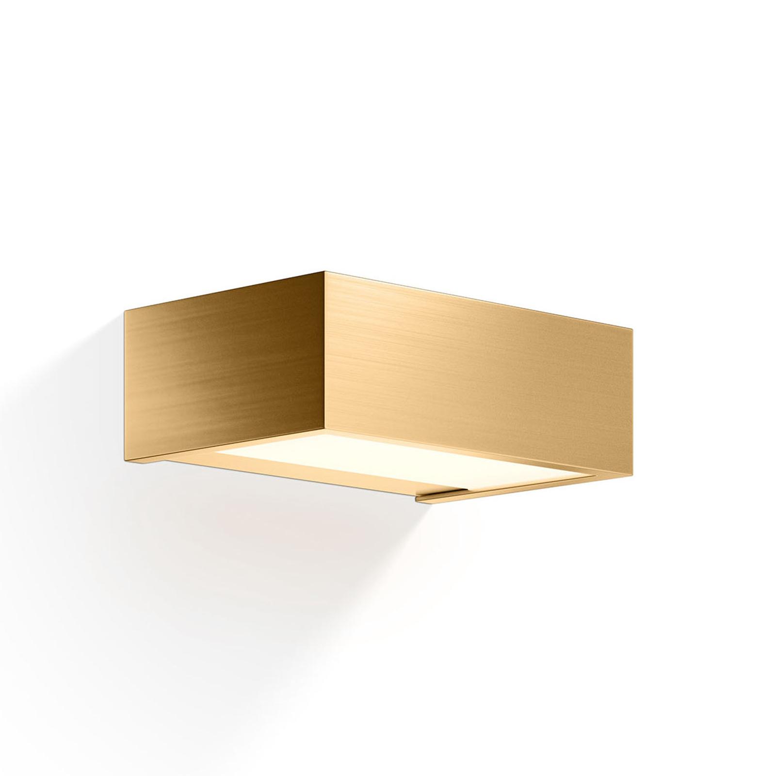 Decor Walther Box LED-væglampe guld 2700 K 15 cm