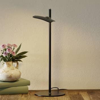 LED-Tischleuchte Raggio, dimmbar, schwarz