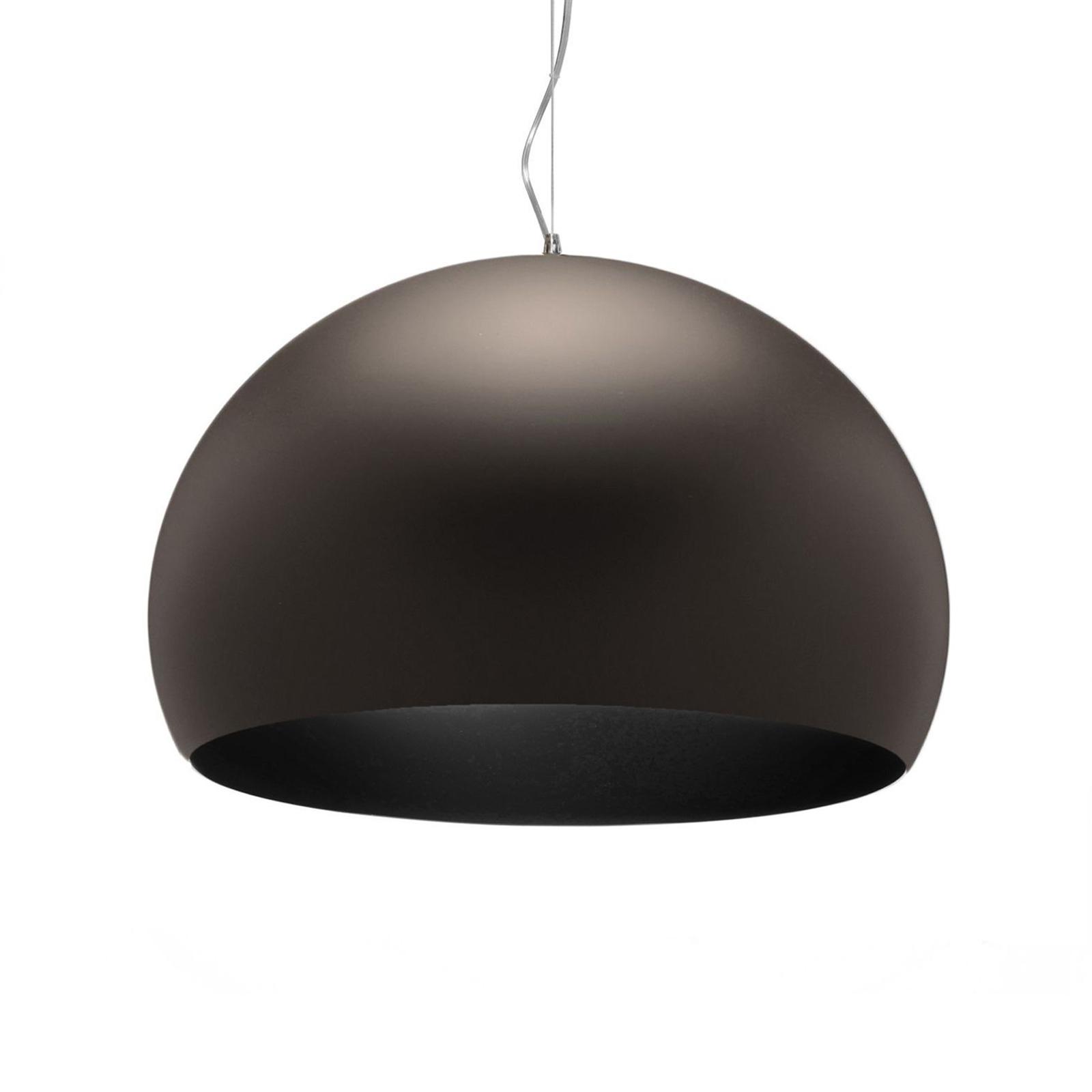 Kartell FL/Y - LED-Pendellampe, braun matt