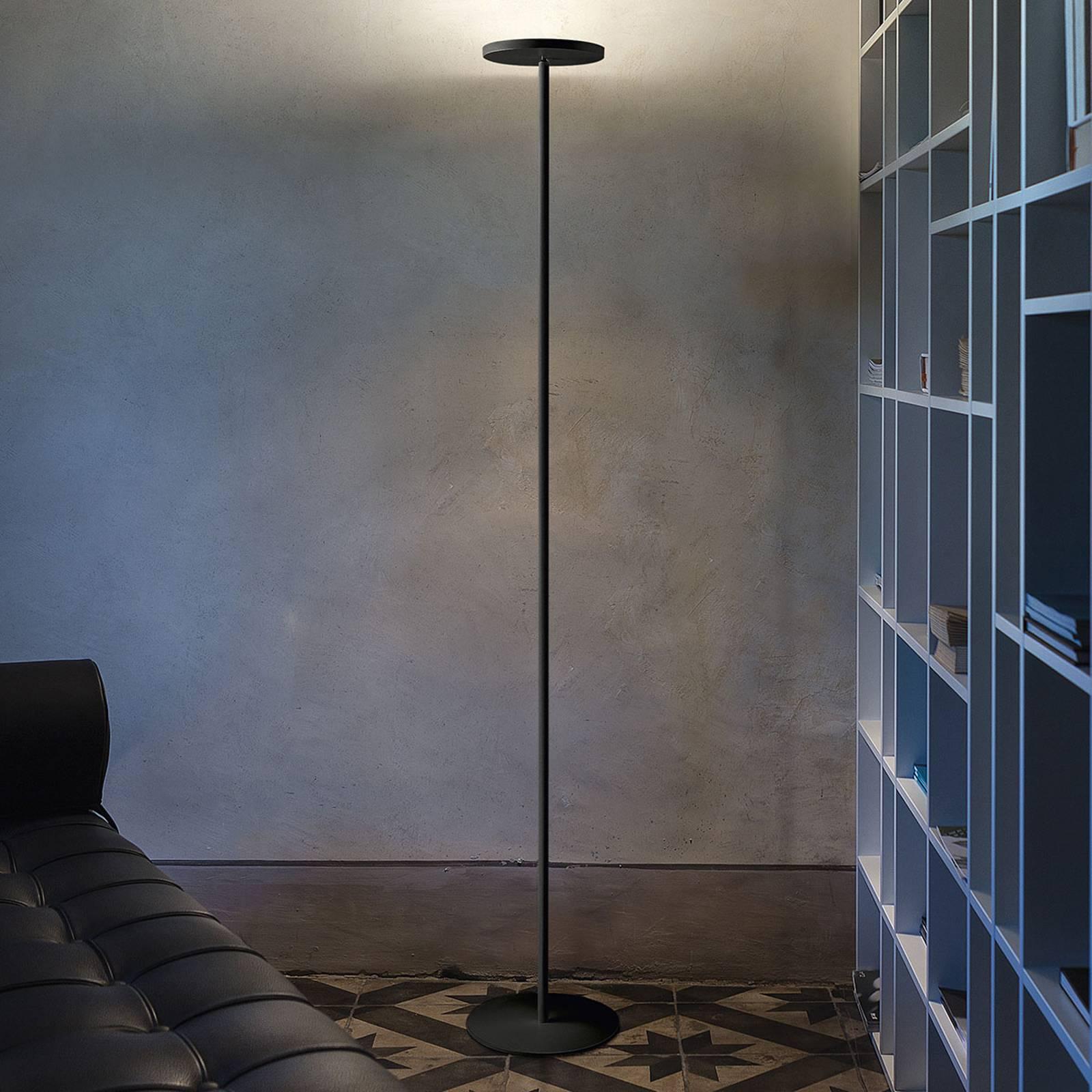 Lampa stojąca LED Joshua, czarna