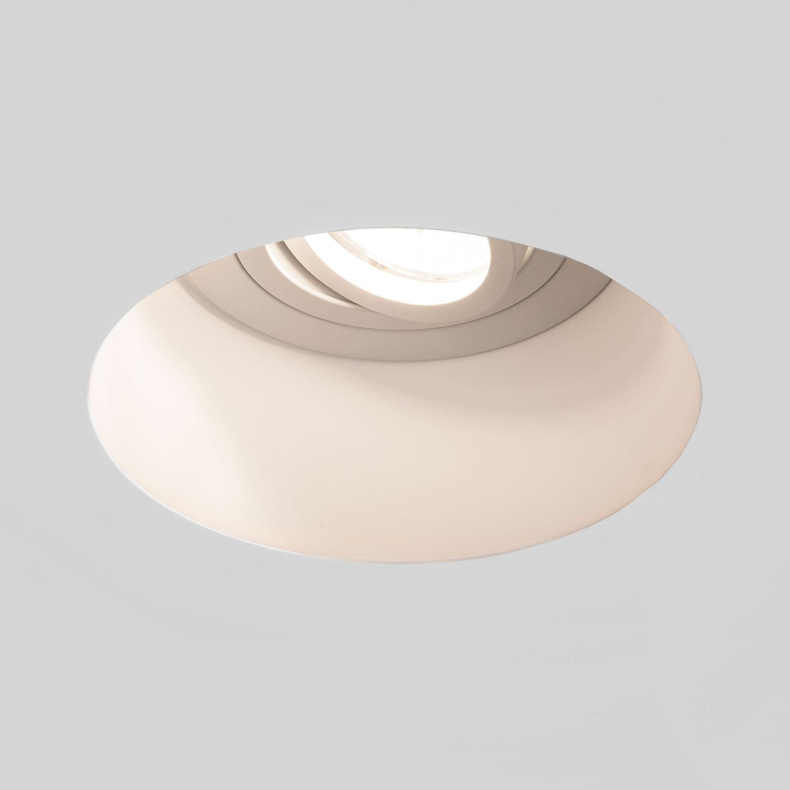 Astro Blanco Round Ajustable Gips-Einbauleuchte