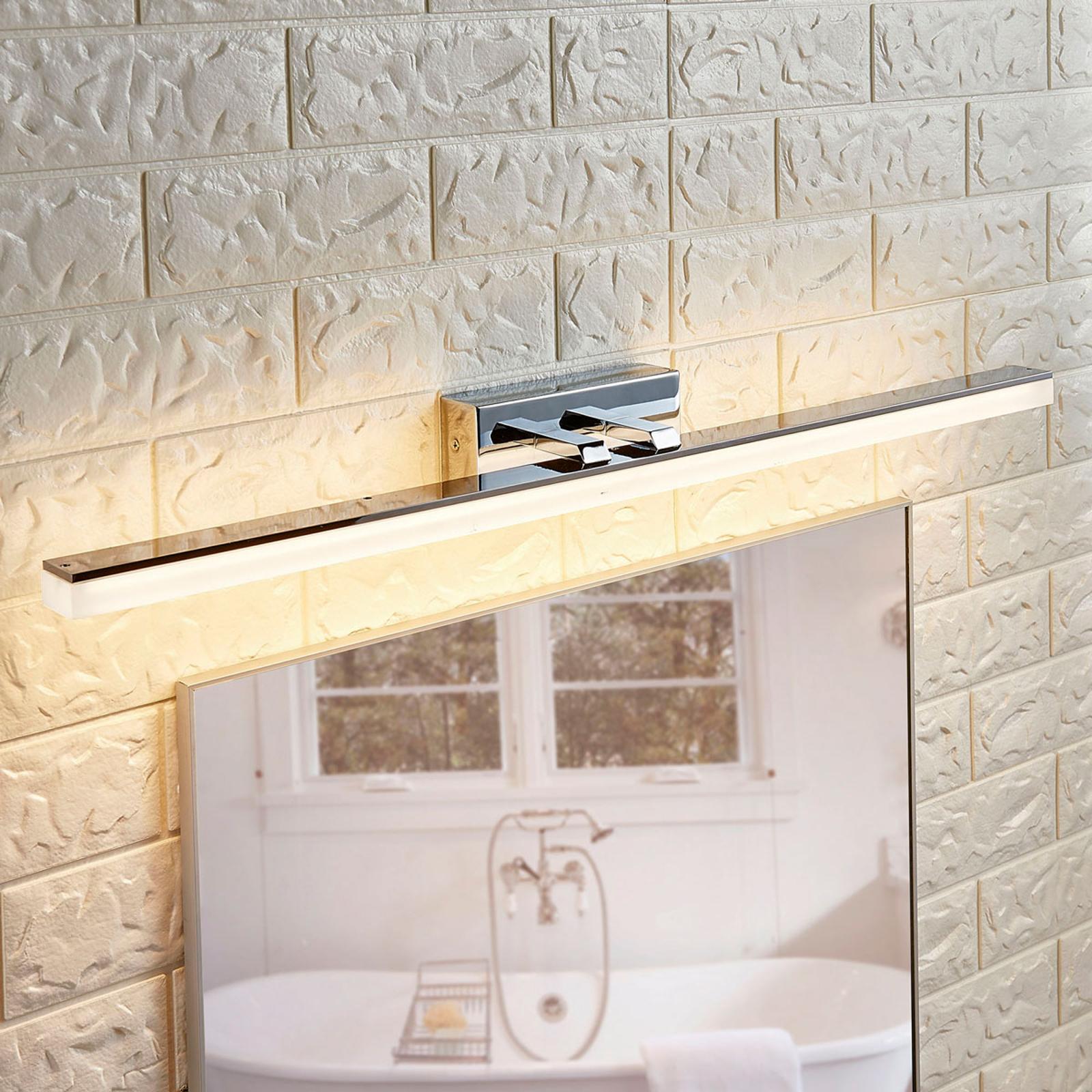 Podłużna lampa nad lustro LED Julie, IP44