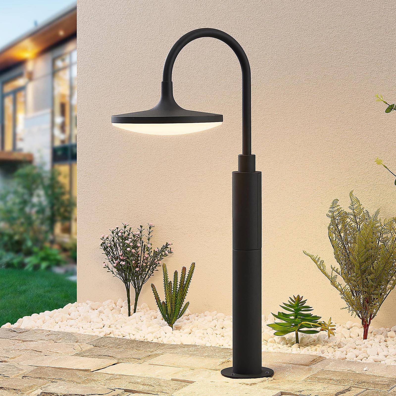 Arcchio Fineria LED-Sockelleuchte aus Aluminium