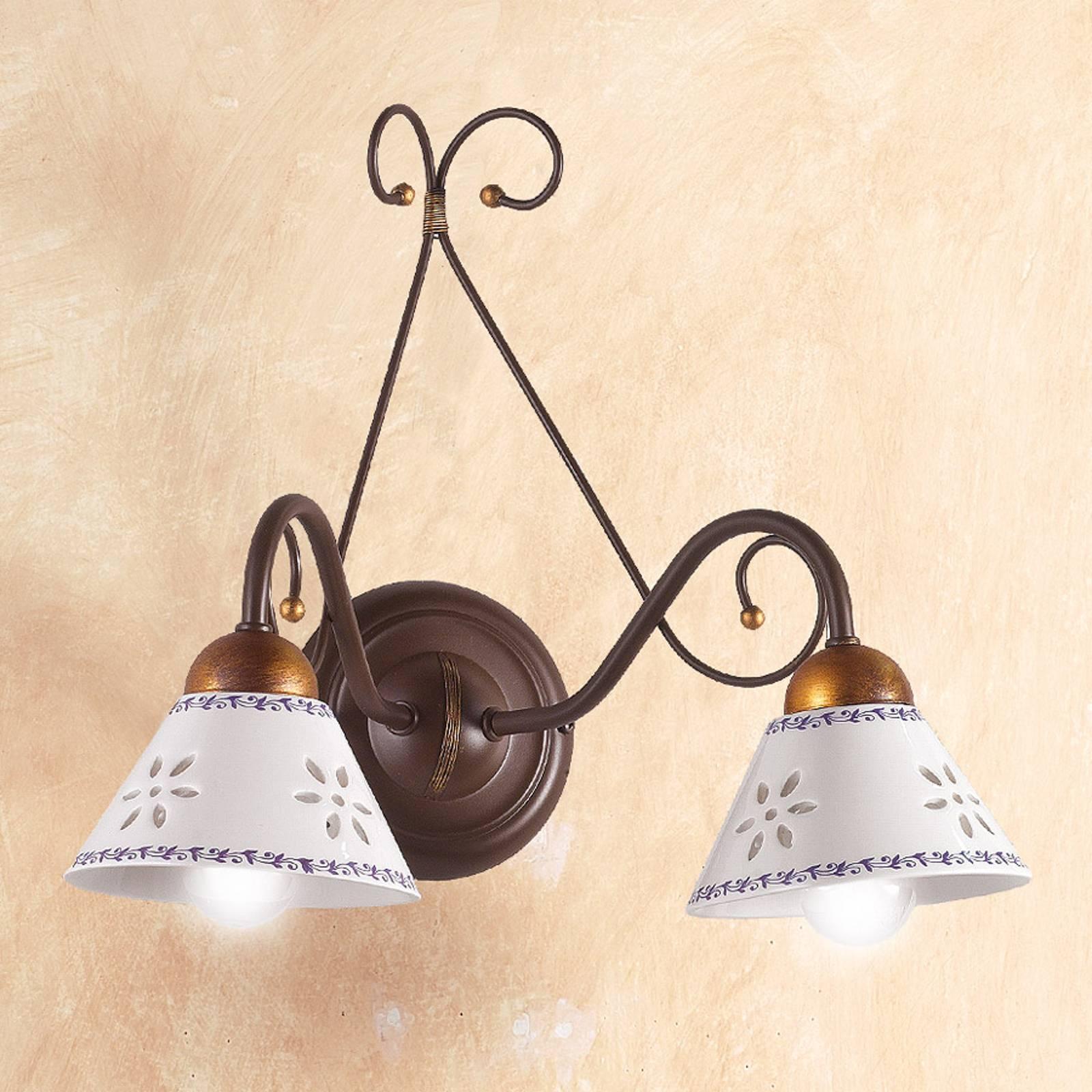 Wandlamp LIBERTY, 2-lichts