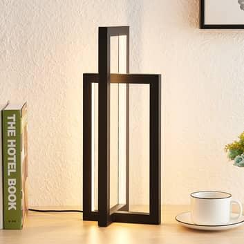 Lucande Hylda LED-Tischleuchte in Schwarz