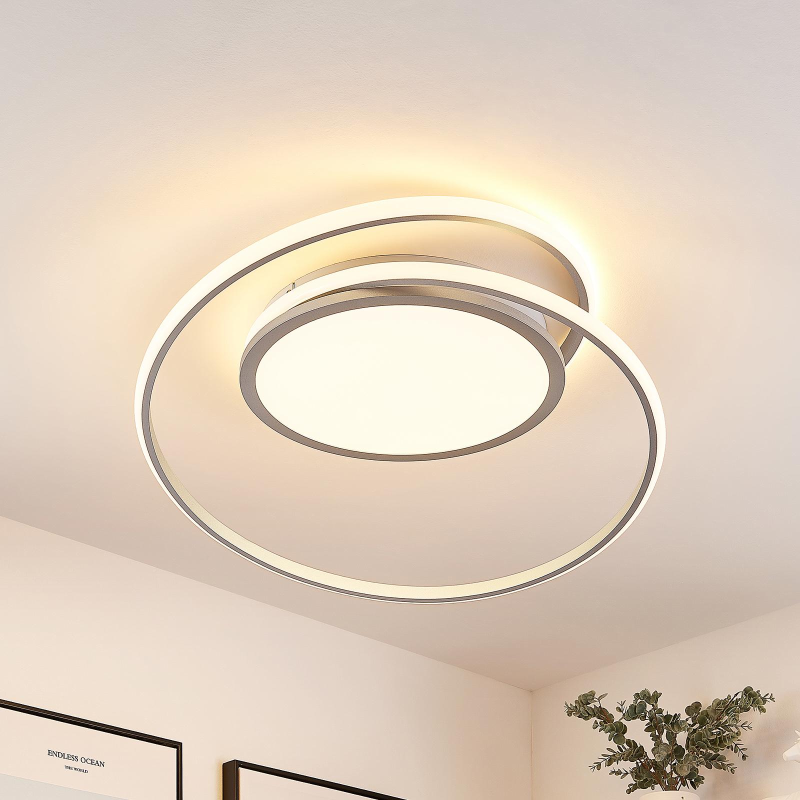 Lucande Noud lampa sufitowa LED, CCT